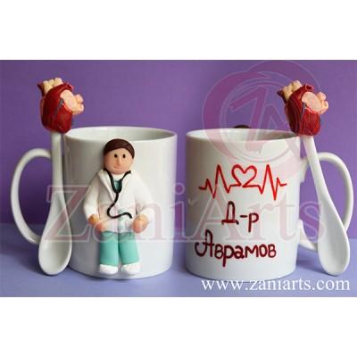 """Чаша """"Доктор-Кардиолог"""" №169"""